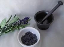 Lavendel, Rosmarin und Salbei